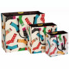 Handle de encargo Paper Bag con Highquality Colorful Printing