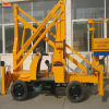 Cleaning를 위한 높은 Safety Self Move Boom Lift