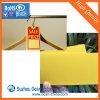 衣服の札のための着色されたマット黄色く堅いPVC不透明なプラスチックシート