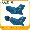 소형 주문을 받아서 만들어진 비행기 모양 PVC USB 섬광 드라이브 (EG606)