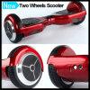 Scooter de dérive intelligent d'équilibre d'individu de roues du rouge deux