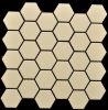 Decorazione di ceramica esagonale semplice del mosaico 2016 (OYT-M002)