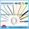 Cable eléctrico aislado PVC del conductor del CCA del cable de Thw del precio del cable