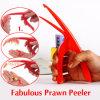 Peeler fabuloso del camarón, dispositivo del Peeler del camarón, mayordomo mágico del camarón
