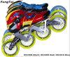 Pattini in-linea del pattino di velocità del rullo con quattro rotelle di 110mm per gli uomini e le donne (DS1008-1010)