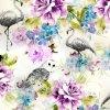 Impression 0206 de Digitals de tissu en soie de mode