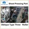 Schiefer Typ- dreirollen-Blatt-Extruder (YXSG1000)
