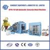 Ligne standard concrète hydraulique complètement automatique de machine de brique de capacité élevée (QTY6-16)