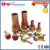 28641 28641-W 45 constructeur femelle métrique du degré JIS Chine exportant l'ajustage de précision hydraulique de connecteur de tuyau flexible