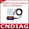 Пластмасса USB вяза 327 средства программирования блока развертки Elm327