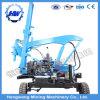 Programa piloto de pila hidráulico para la instalación de los postes