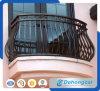 Heißer Verkaufs-Europa-bearbeitetes Eisen-Balkon-Zaun/galvanisierter Stahlzaun