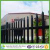 Op zwaar werk berekende Schermende Spear 2400 X 1800mm van de Omheining van de Veiligheid Zwart Comité 2.4X1.8
