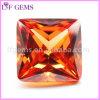 De vierkante Steen van CZ Champagne van de Besnoeiing van de Prinses voor Juwelen