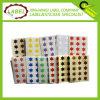 10mm Forma de Estrella coloreada Etiqueta Etiqueta adhesiva