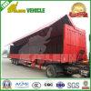 40 tonnes de Tri-Essieux d'air en PVC en suspension de remorque de rideau