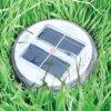 옥외 LED 팽창식 태양 램프 휴대용 태양 LED 팽창식 태양 손전등 Fold-Able LED 팽창식 빛
