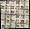 2015 quadratisches Marble Mosaic Tile mit Glass (OTY-Z001)