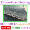 Las cubiertas para las esteras de la gimnasia se dirigen o el suelo de goma de la pequeña empresa