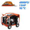 15HP 4000psi Hot Water High Pressure Washer