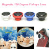 180 magnéticos Degree Fisheye Lens para Smart Phone y Cameras