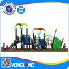 De nieuwe Apparatuur van de Speelplaats van de Kinderen van het Onderwijs Openlucht