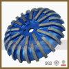 Ferramentas de roda de perfil de diamante em superfícies de perfuração de máquinas automáticas