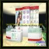 DIY kosmetischer Anzeigen-Kiosk für Anzeigen-Schönheits-Produkte (C10052)