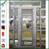 Puertas del marco de la prueba de los sonidos de las puertas principales del PVC del huracán