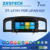 Navegação do carro DVD GPS da tela de toque de Zestech para Lifan 620