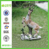 Animal Sculpture (NF12173-1)를 위한 정원 Statue Outdoor Decoration