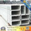 Conduttura d'acciaio saldata della sezione vuota quadrata & tubo neri & galvanizzati Cina