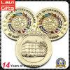 Spezielle kundenspezifische Qualitäts-Goldandenken-Münze