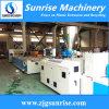 Linha de produção oca da placa do PVC do plástico para a venda