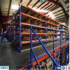 Racking do armazém do metal da plataforma com a equipe experiente de Installtion
