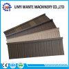 Azulejo revestido de madera de metal de la piedra colorida del material de material para techos