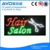 Muestra electrónica del salón de pelo del rectángulo de Hidly LED
