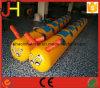 巨大で膨脹可能な幼虫、跳躍のスポーツのゲームのための膨脹可能な管
