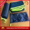 Cobertor do velo do curso com cinta carreg