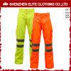 Gelb-orangee reflektierende Sicherheits-Hose imprägniert (ELTHVPI-25)