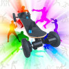 قوّيّة [1650إكس2و] 4 عجلات حزام سير محرّك كهربائيّة [سكوتر] لوح التزلج