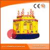 De commerciële Opblaasbare Uitsmijter van de Cake van de Verjaardag voor de Partij van Jonge geitjes (t1-212)