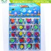 Solo de cristal colorido com os brinquedos Growing da água Growing da flor