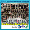 Profil en aluminium d'extrusion de tube ovale de garde-robe avec le bon prix