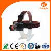 Faro di plastica della batteria a secco 3 W LED del AAA dello zoom del faro di caccia del LED