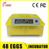 Piccola incubatrice dell'uovo del pollame completamente automatico per la covata della macchina