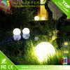 Lumière solaire de bille de la lumière 30cm de jardin de DEL