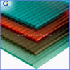 Virgin Lexan Material Blue Twin-Wall Polycarbonate Sheeting