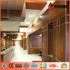 Panneautage en aluminium de mur de grain en bois d'Ideabond 4ft*8ft 4mm