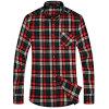 최신 판매 남자의 여가 형식 긴 소매 셔츠